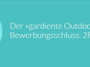 """gardiente Outdoor-Living-Award"""