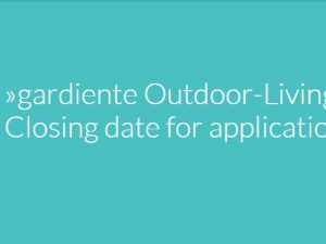 """gardiente Outdoor Living Award"""