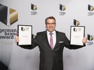 Schaffner beim German Brand Award zweimal ausgezeichnet