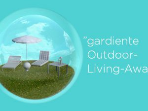 "Erneute Verleihung des ""gardiente Outdoor-Living Awards"""
