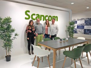 Visiting our exhibitor Scancom
